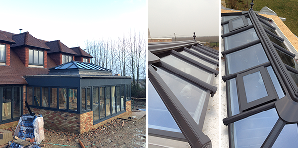 Aluminium Orangeries Worthing installed by Worthing Windows