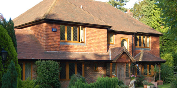 Leaded Timber Windows installed on a Detached house in Sompting, West Sussex by Worthing Windows