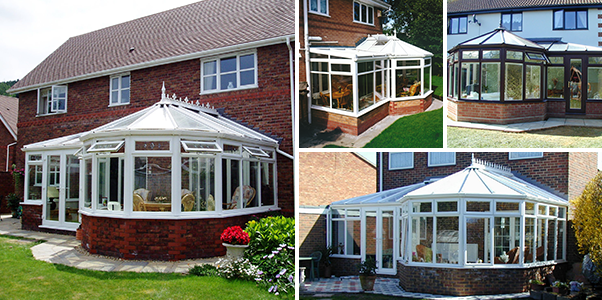 P Shape Conservatory Worthing Windows