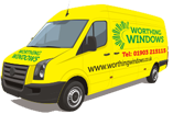 Worthing Windows Branded Van