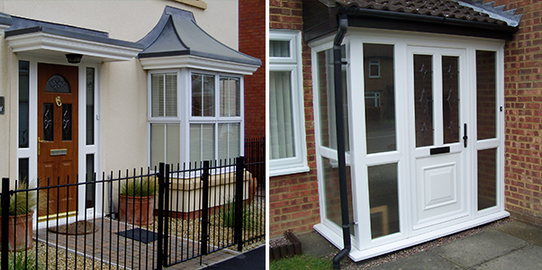 uPVC Front Doors installed in Worthing, West Sussex by Worthing Windows