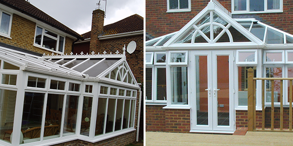 T Shape Conservatory Worthing Windows